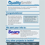 QualitySmith.com HTML Email Redesign